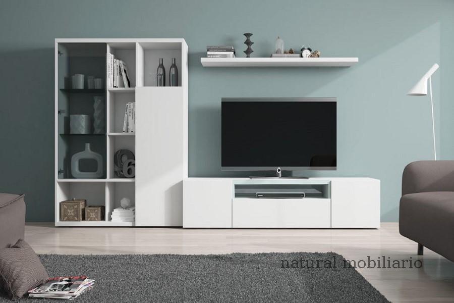 Muebles Modernos chapa natural/lacados salon egla 4-532-251