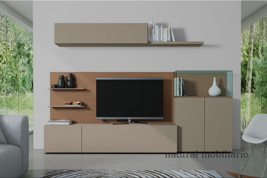 Muebles Modernos chapa natural/lacados salon egla 4-532-256