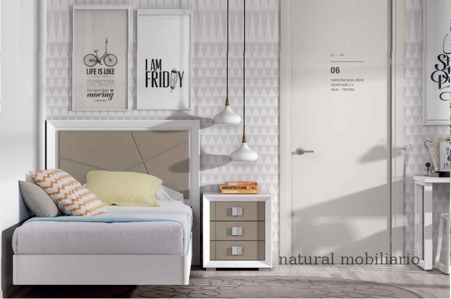 Muebles Contemporáneos dormitorio jviso 2-504 - 656