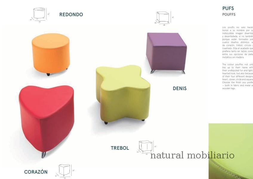 Muebles Cabeceros tapizados pouf sam 1-1-667