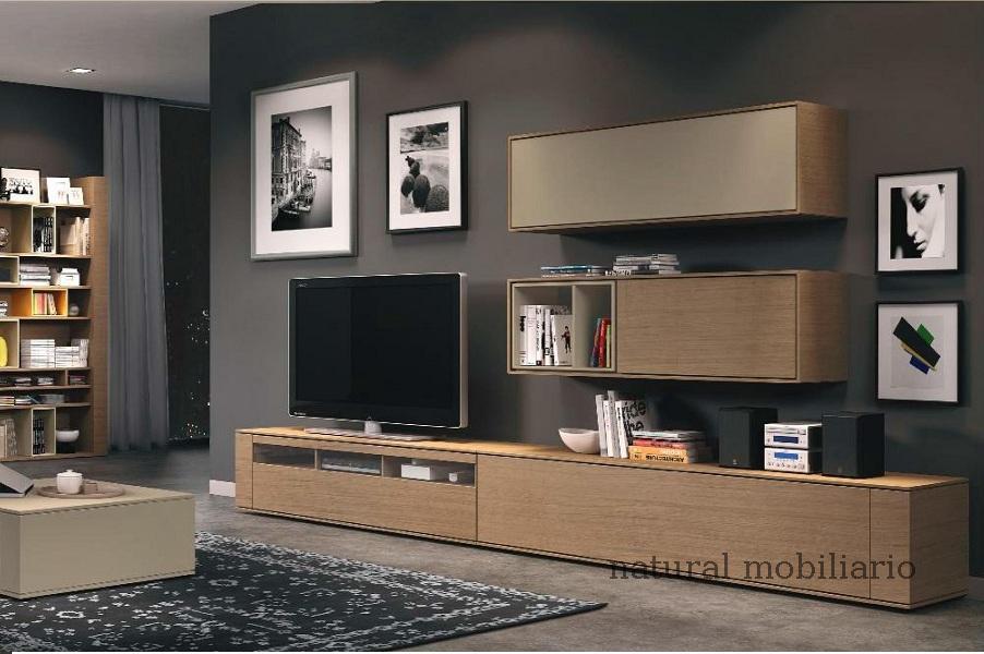 Muebles Modernos chapa natural/lacados salon moderno brit 1-672-701