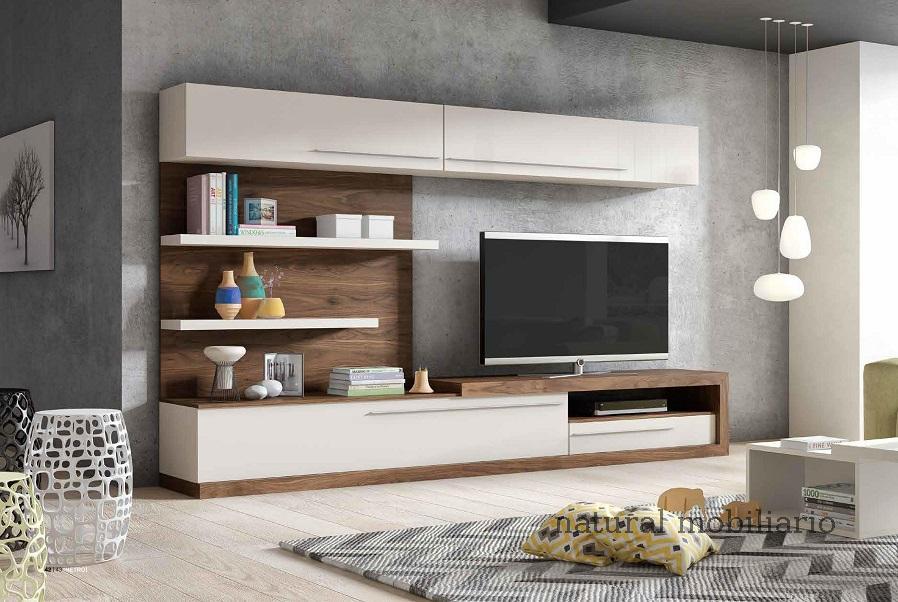 Muebles Modernos chapa natural/lacados salon apilable moderno1-87mese560