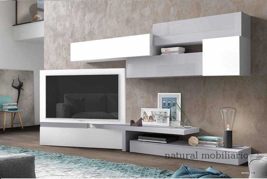 Muebles Modernos chapa natural/lacados salon apilable moderno1-87mese551