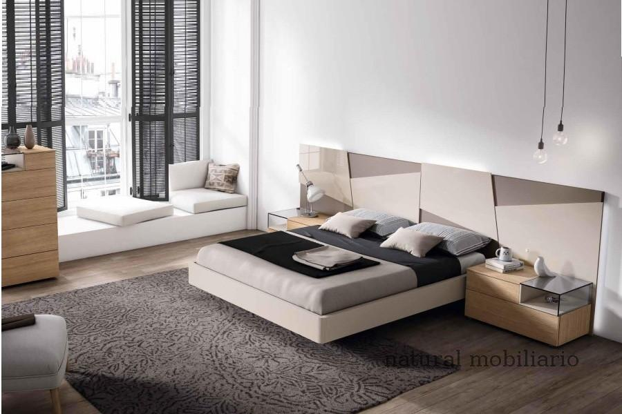 Muebles Modernos chapa natural/lacados dormitorio mese  1-87-416