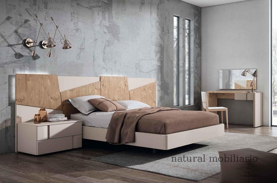 Muebles Modernos chapa natural/lacados dormitorio mese  1-87-418