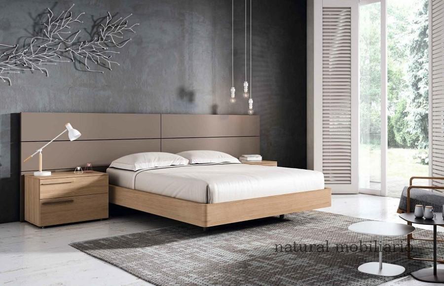 Muebles Modernos chapa natural/lacados dormitorio mese  1-87-412