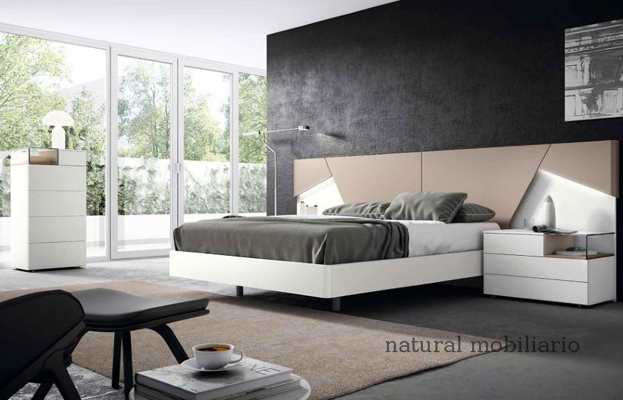 Muebles Modernos chapa natural/lacados dormitorio mese  1-87-419