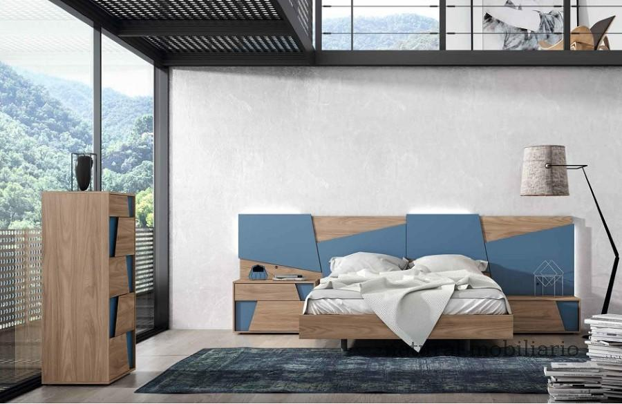 Muebles Modernos chapa natural/lacados dormitorio mese  1-87-417