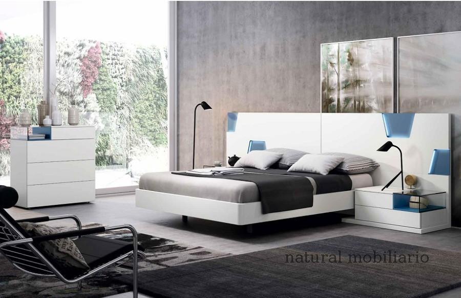Muebles Modernos chapa natural/lacados dormitorio mese  1-87-403