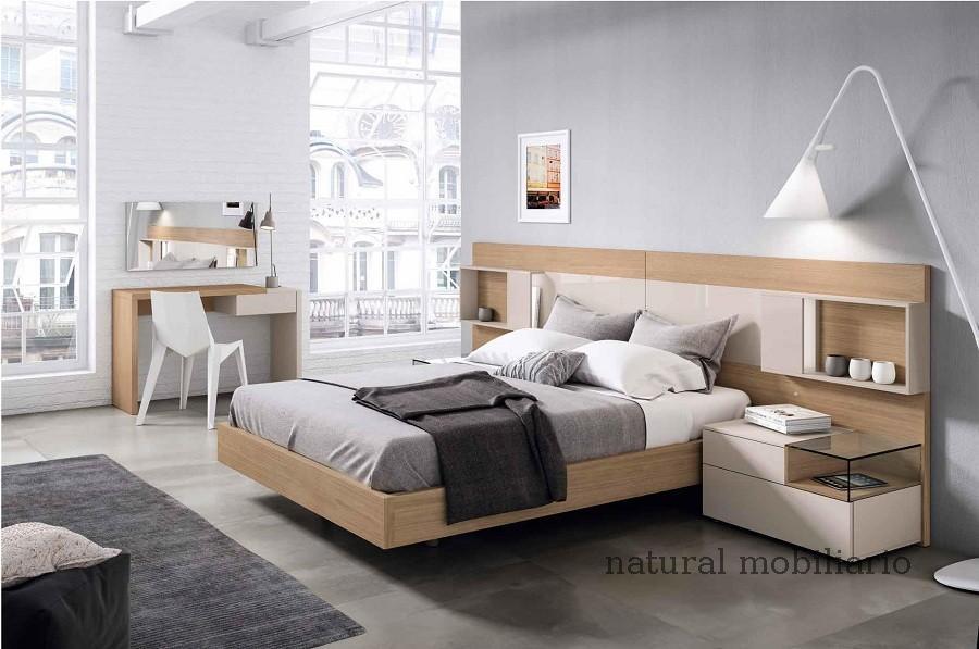 Muebles Modernos chapa natural/lacados dormitorio mese  1-87-413