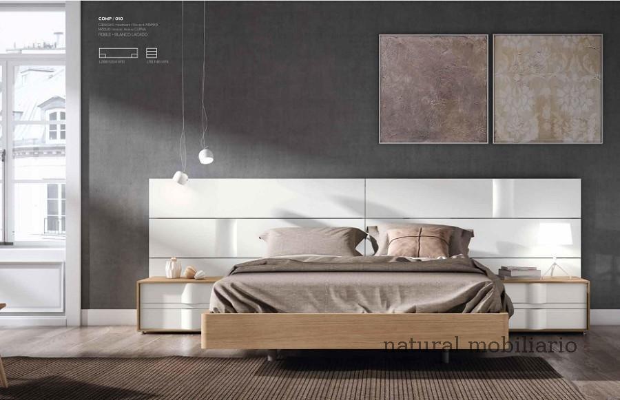 Muebles Modernos chapa natural/lacados dormitorio mese  1-87-410