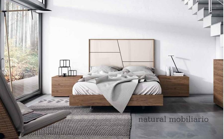 Muebles Modernos chapa natural/lacados dormitorio mese  1-87-408