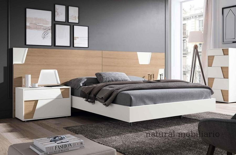 Muebles Modernos chapa natural/lacados dormitorio mese  1-87-401