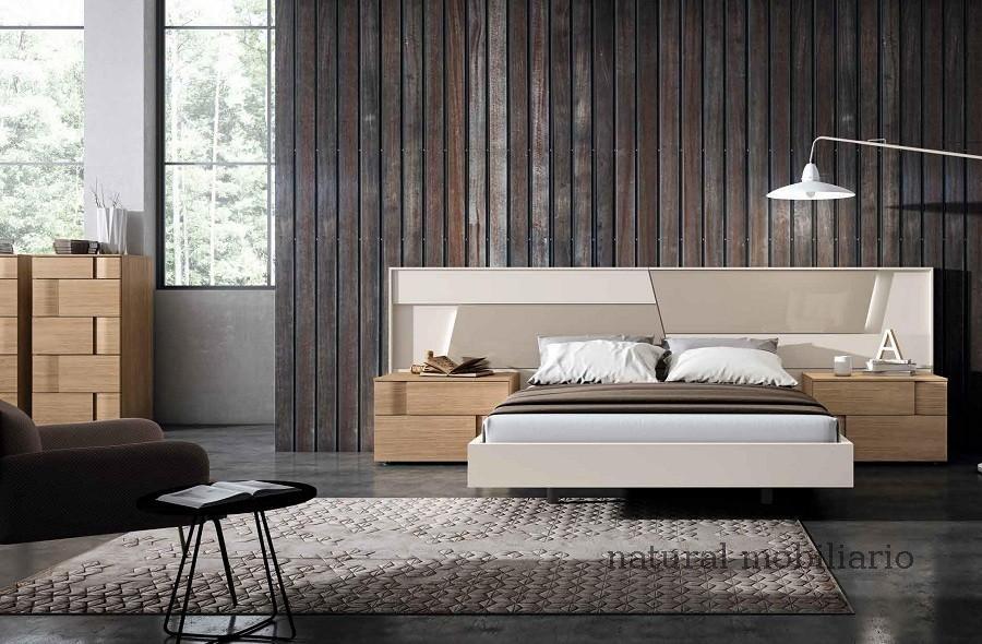 Muebles Modernos chapa natural/lacados dormitorio mese  1-87-405