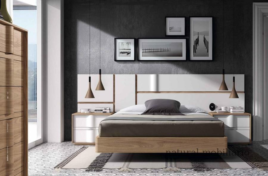 Muebles Modernos chapa natural/lacados dormitorio mese  1-87-425