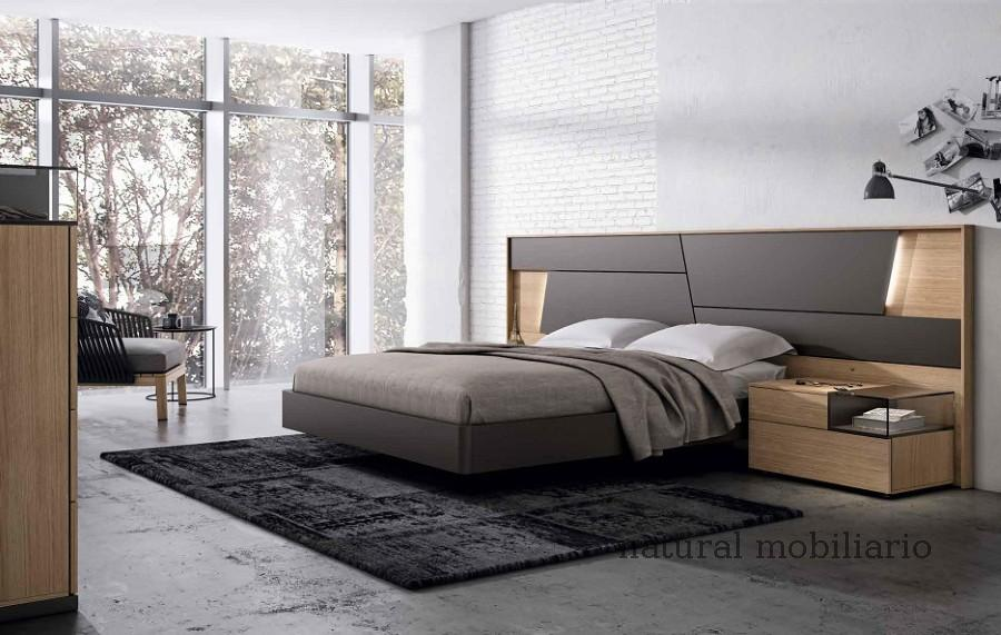 Muebles Modernos chapa natural/lacados dormitorio mese  1-87-404