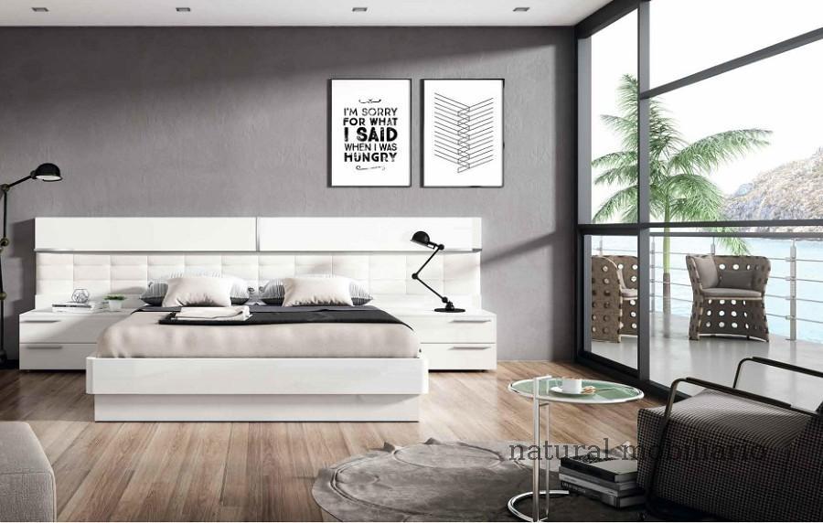 Muebles Modernos chapa natural/lacados dormitorio mese  1-87-429