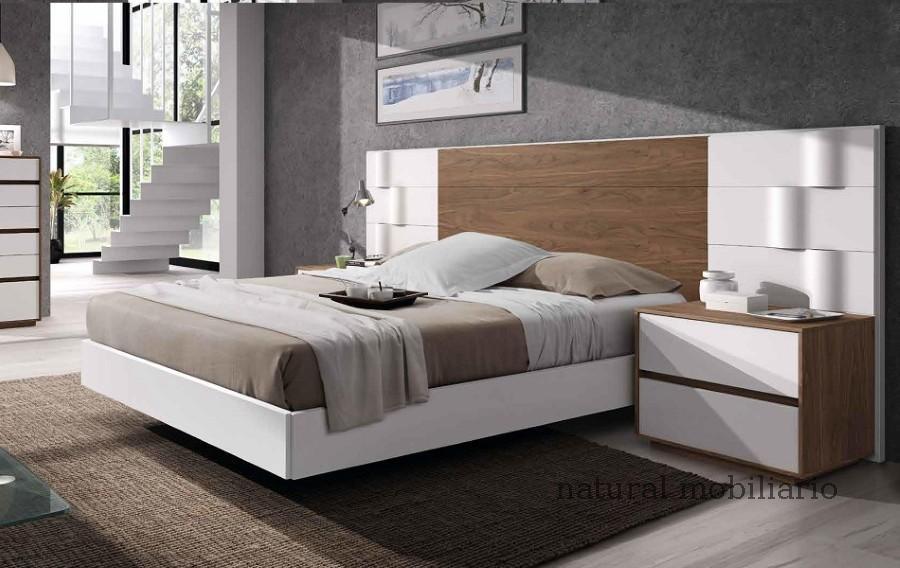 Muebles Modernos chapa natural/lacados dormitorio mese  1-87-427