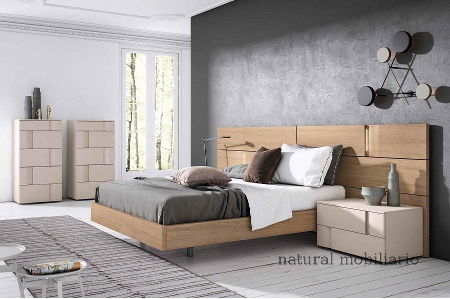 Muebles Modernos chapa natural/lacados dormitorio mese  1-87-411