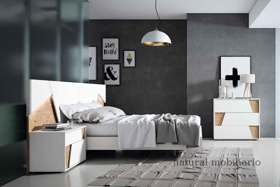 Muebles Modernos chapa natural/lacados dormitorio mese  1-87-420