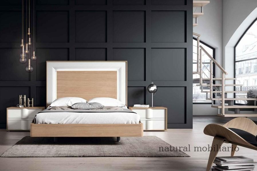Muebles Modernos chapa natural/lacados dormitorio mese  1-87-423