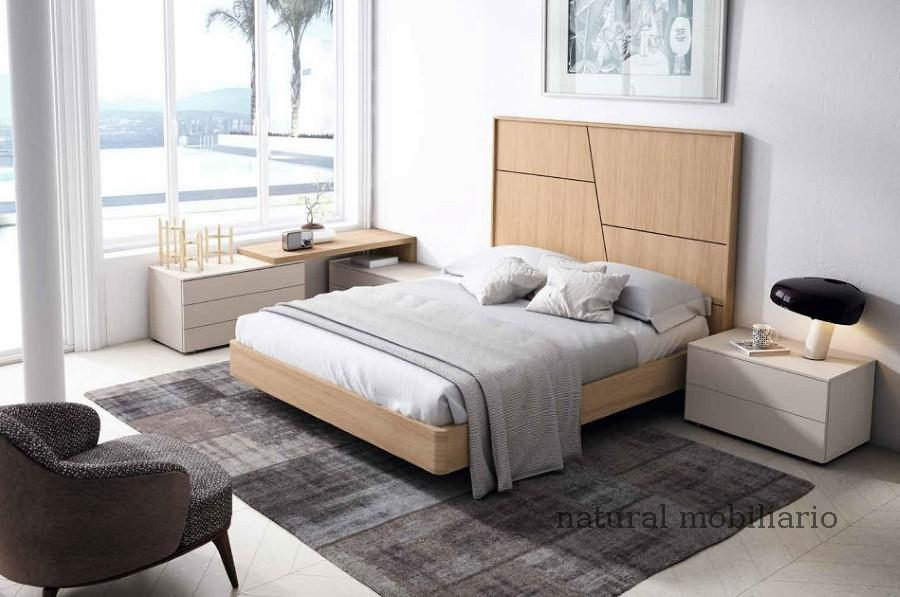 Muebles Modernos chapa natural/lacados dormitorio mese  1-87-409