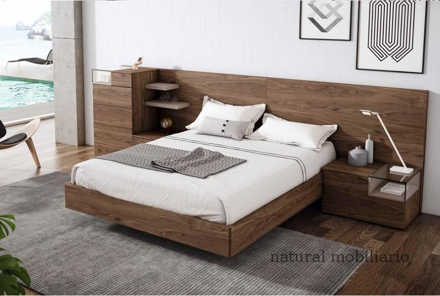 Muebles Modernos chapa natural/lacados dormitorio mese  1-87-430