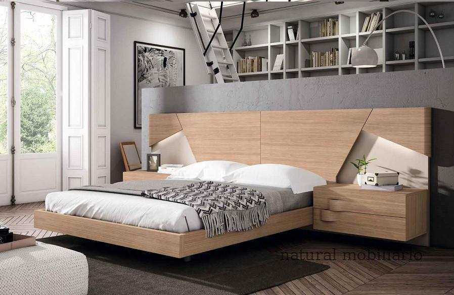 Muebles Modernos chapa natural/lacados dormitorio mese  1-87-421