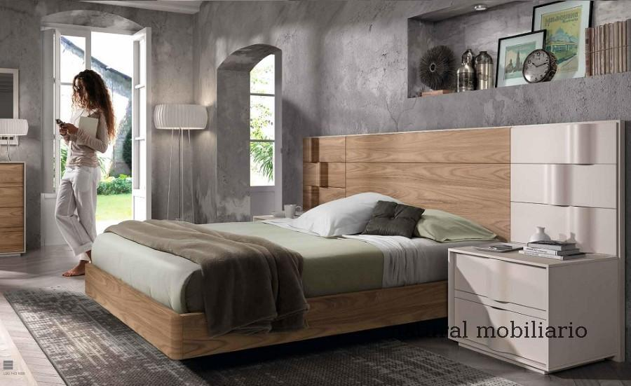 Muebles Modernos chapa natural/lacados dormitorio mese  1-87-428