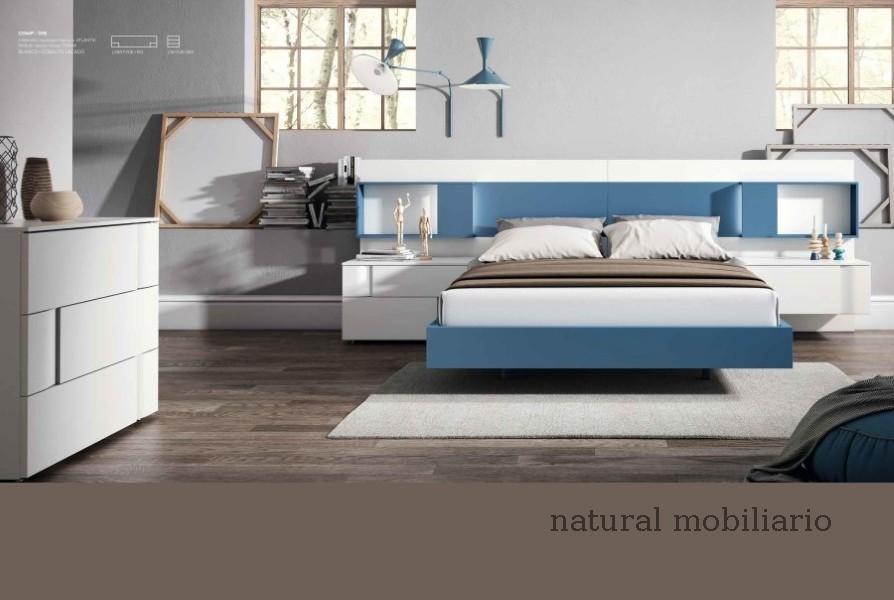 Muebles Modernos chapa natural/lacados dormitorio mese  1-87-415