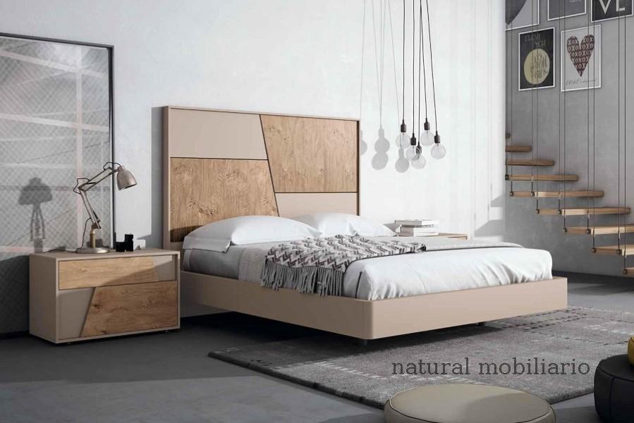Muebles Modernos chapa natural/lacados dormitorio mese  1-87-407