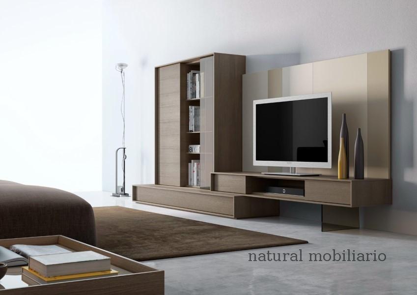 Muebles Modernos chapa natural/lacados salones brit 1-672-204