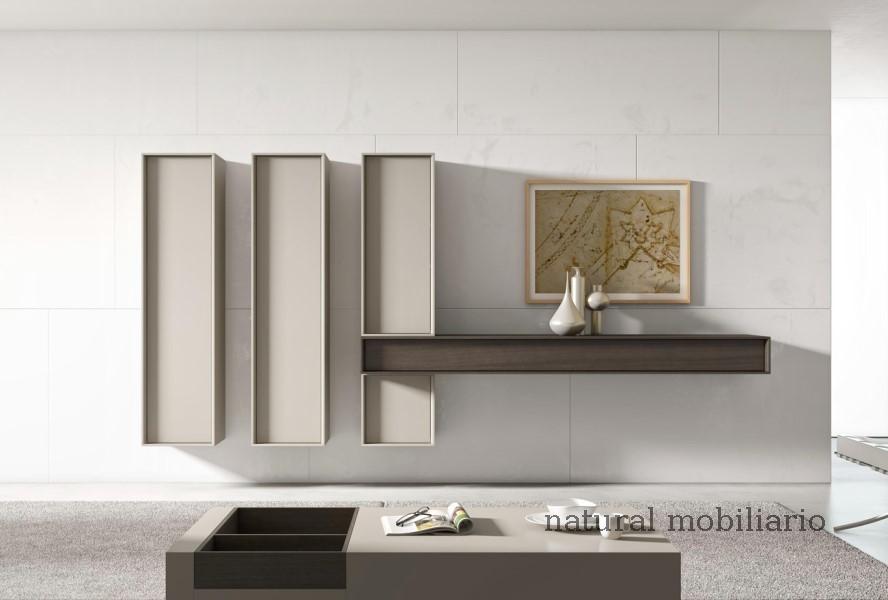 Muebles Modernos chapa natural/lacados salones brit 1-672-201