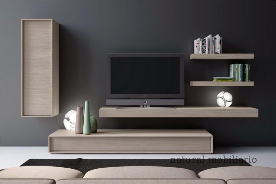 Muebles Modernos chapa natural/lacados salones brit 1-672-202