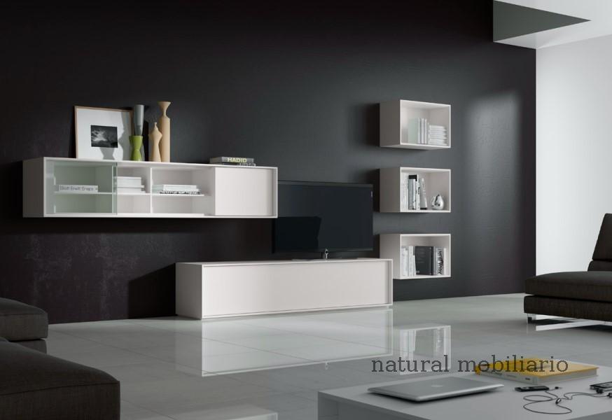 Muebles Modernos chapa natural/lacados salones brit 1-672-213