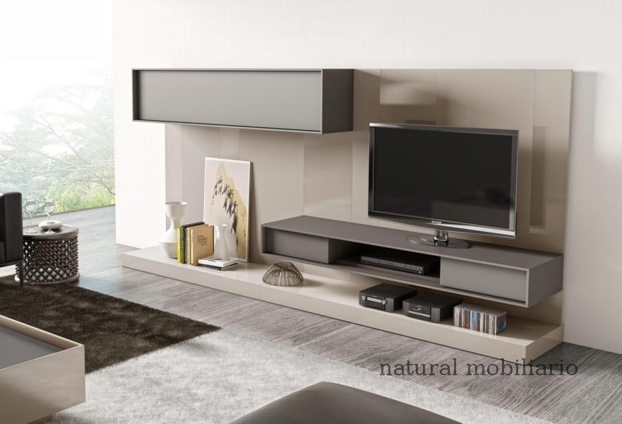 Muebles Modernos chapa natural/lacados salones brit 1-672-211