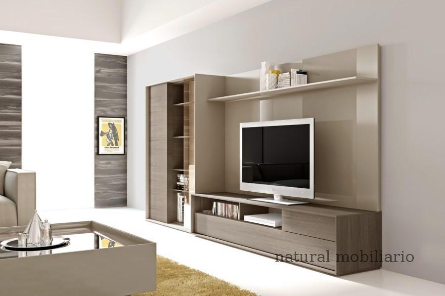 Muebles Modernos chapa natural/lacados salones brit 1-672-214