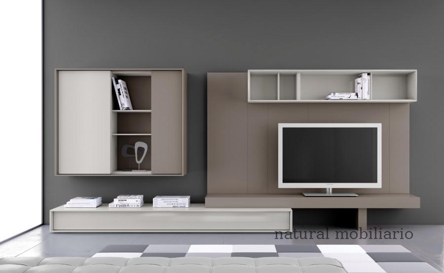 Muebles Modernos chapa natural/lacados salones brit 1-672-210