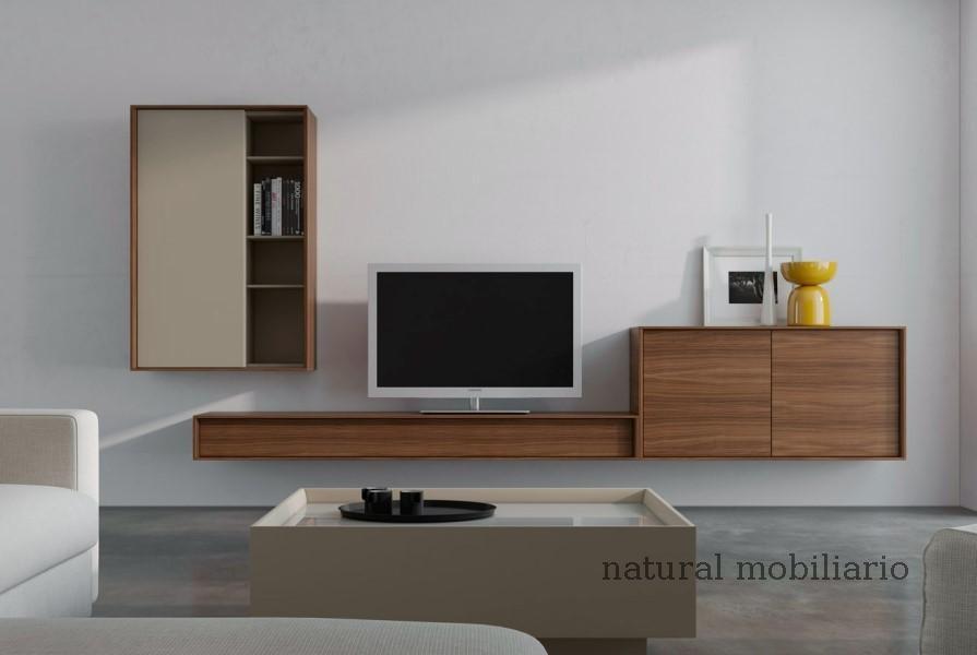 Muebles Modernos chapa natural/lacados salones brit 1-672-212