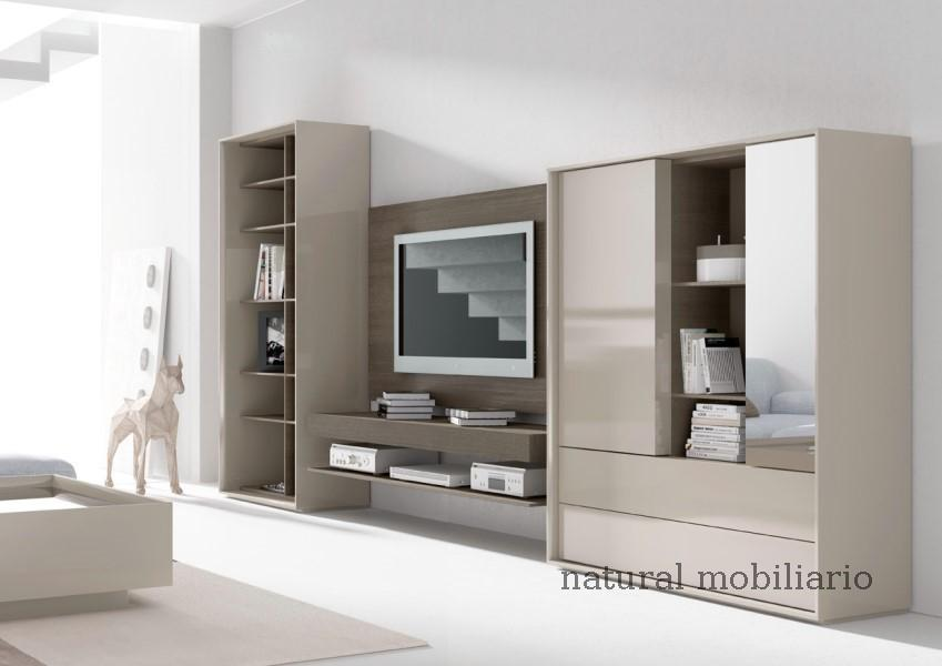 Muebles Modernos chapa natural/lacados salones brit 1-672-209