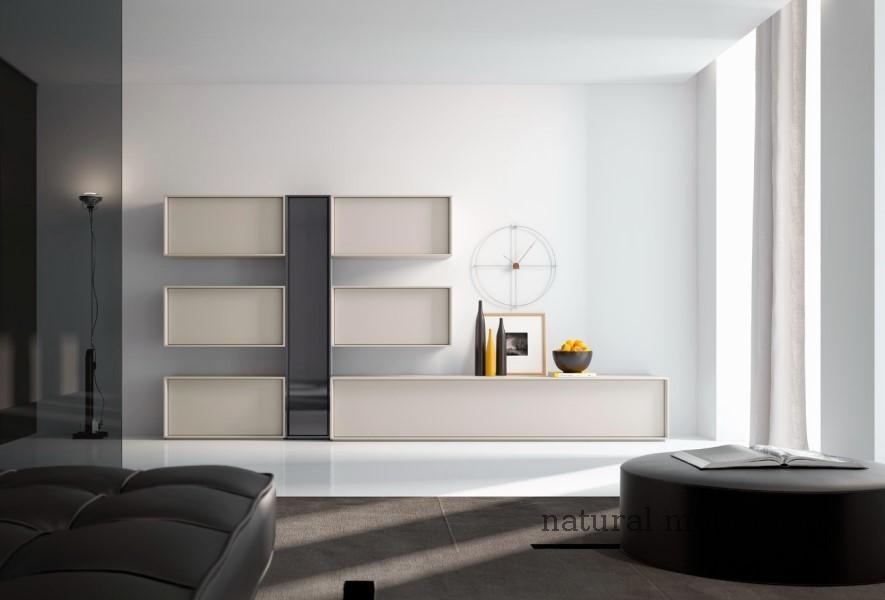 Muebles Modernos chapa natural/lacados salones brit 1-672-203