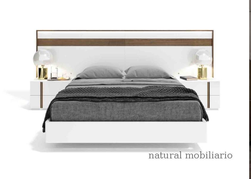 Muebles Modernos chapa natural/lacados dormitorio cubi 1-144 - 333