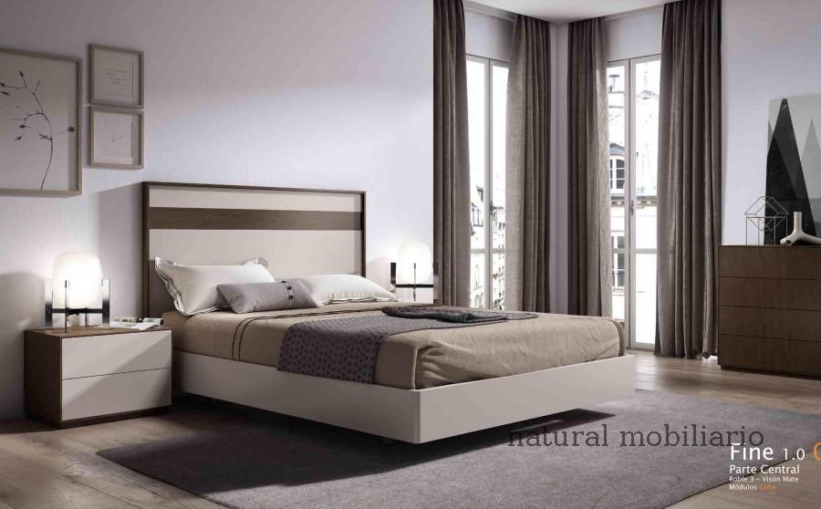 Muebles Modernos chapa natural/lacados dormitorio cubi 1-144 - 335