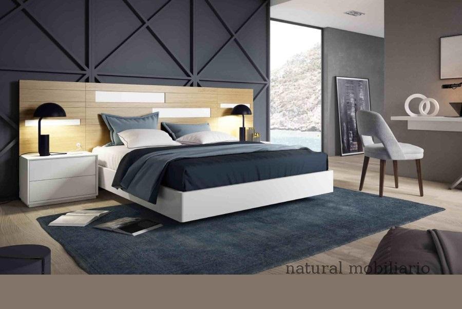 Muebles Modernos chapa natural/lacados dormitorio cubi 1-144 - 307