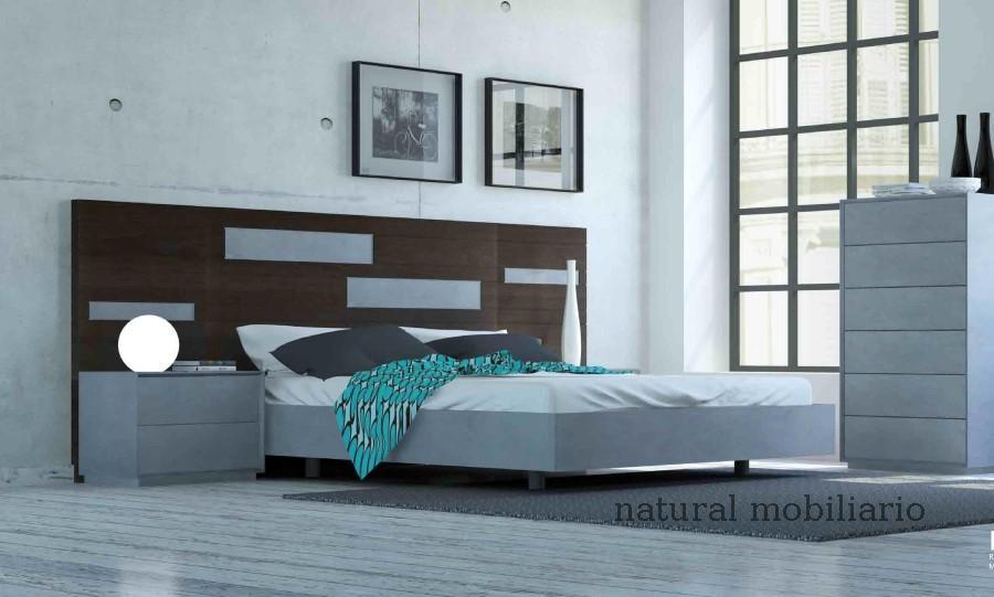Muebles Modernos chapa natural/lacados dormitorio cubi 1-144 - 314