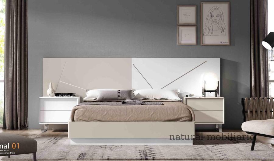 Muebles Modernos chapa natural/lacados dormitorio cubi 1-144 - 321