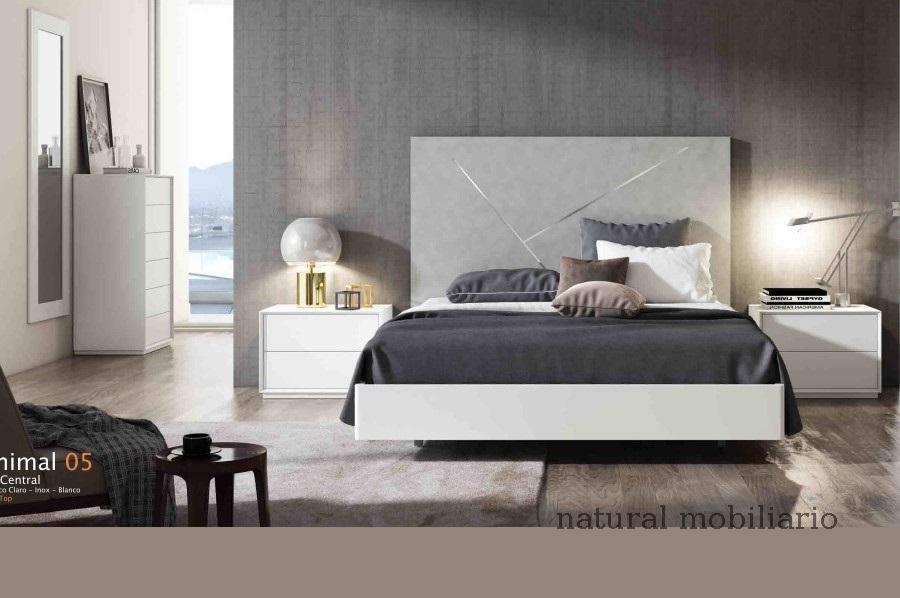 Muebles Modernos chapa natural/lacados dormitorio cubi 1-144 - 325