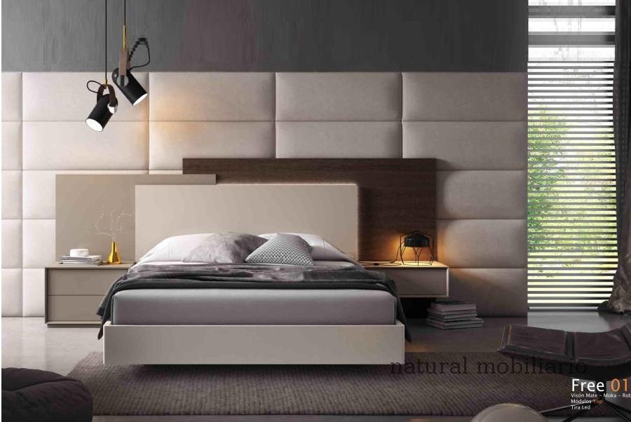 Muebles Modernos chapa natural/lacados dormitorio cubi 1-144 - 336