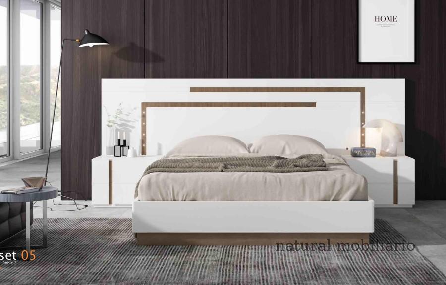 Muebles Modernos chapa natural/lacados dormitorio cubi 1-144 - 304