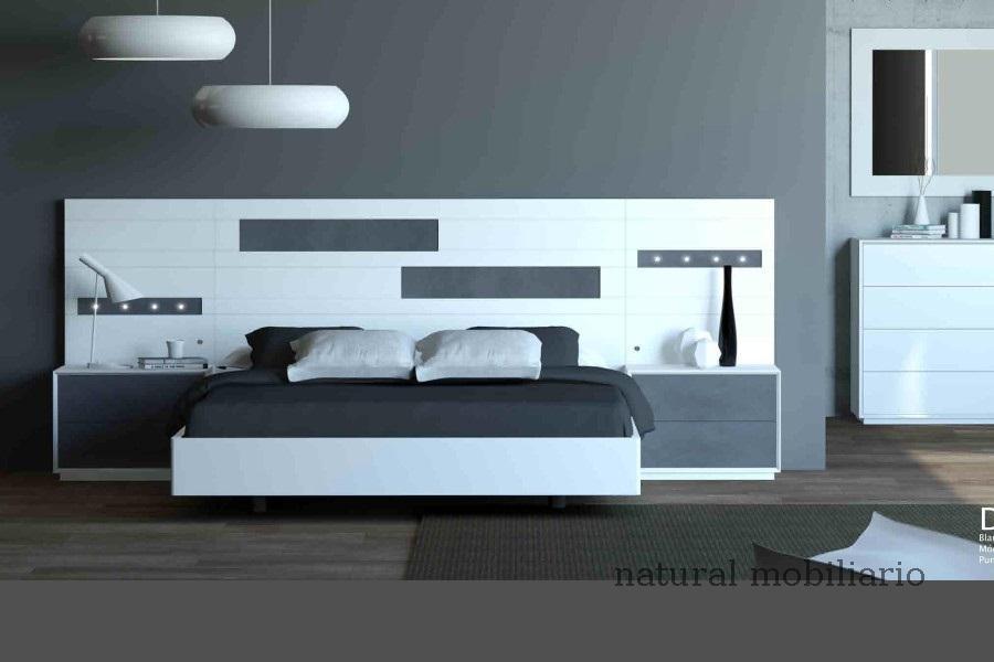 Muebles Modernos chapa natural/lacados dormitorio cubi 1-144 - 313